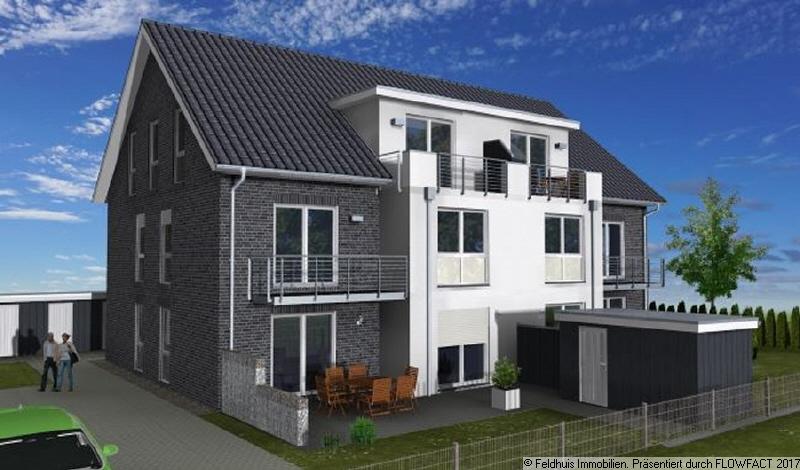 3D-Ansicht-Balkon