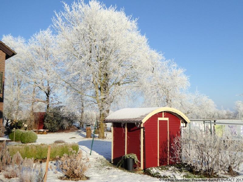 Gartenansicht I  Winter 2021