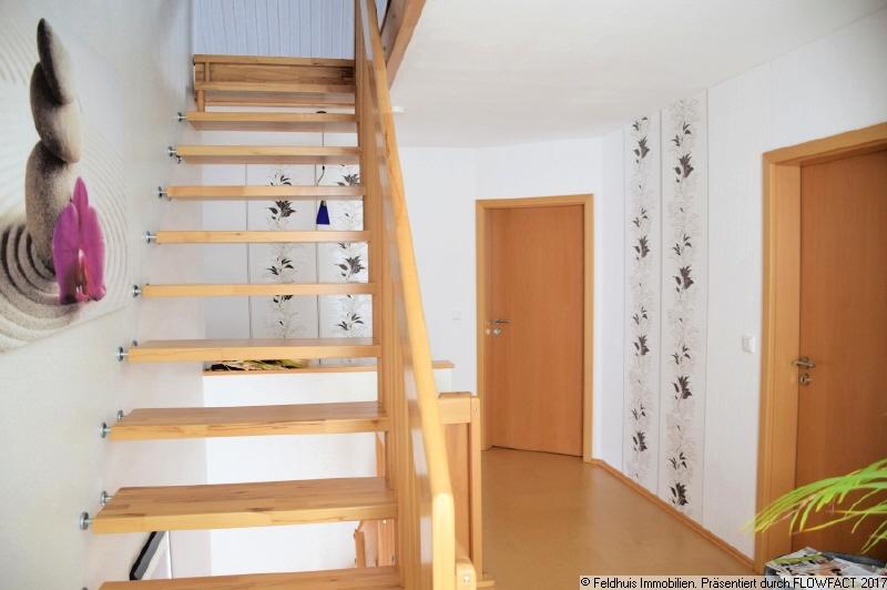Treppenaufgang Bodenraum