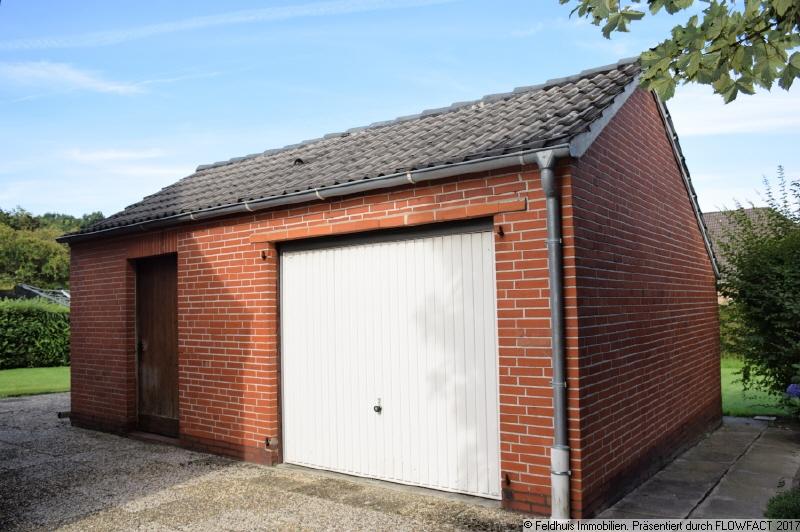 Garage mit Abstellraum